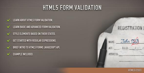 TutsPlus HTML5 Form Validation 1292178