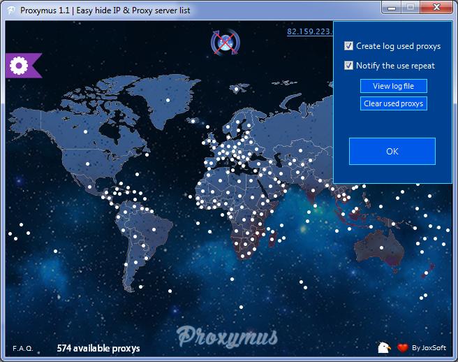 Hide ip proxy server