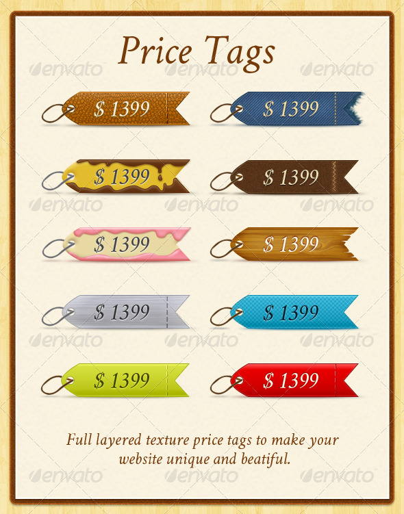 GraphicRiver Price Tags 156789