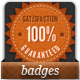 Satisfaction Guaranteed Seals - GraphicRiver Item for Sale