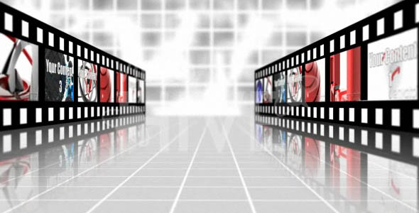 After Effects Project - VideoHive Filmstrip Showcase 48731