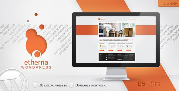 ThemeForest Etherna powerful and flexible WordPress theme 462474