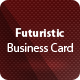 Futuristic Business Card - GraphicRiver Item for Sale