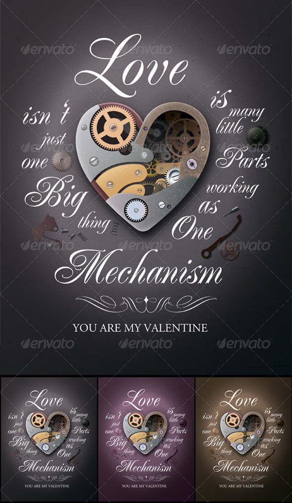 GraphicRiver Valentine s Day Poster 157806