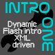 IntroOne - XML Driven Dynamic Flash Intro - ActiveDen Item for Sale