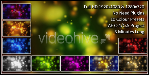 After Effects Project - VideoHive Particle Background 157869
