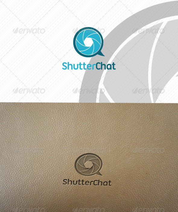 GraphicRiver ShutterChat Logo Template 1315595