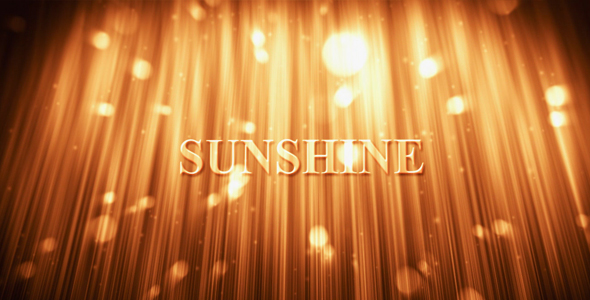 After Effects Project - VideoHive Sunshine 158047