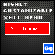 Highly Customizable XML Menu - ActiveDen Item for Sale