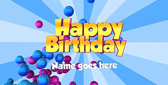 VideoHive Happy Birthday 1319891