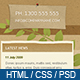 Eco Enviro - Full HTML Site 6 pages - PSD included - ThemeForest Item for Sale