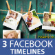 Facebook Timeline Covers Templates VOL1 - GraphicRiver Item for Sale