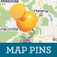 Vector Navigation Icons and Maps - GraphicRiver Item for Sale