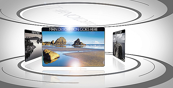 After Effects Project - VideoHive Clean Displays 158671