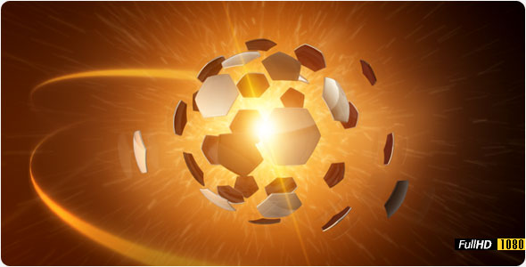After Effects Project - VideoHive 3D Explode Football FullHD 158748