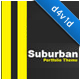 Suburban Portfolio Theme - ThemeForest Item for Sale