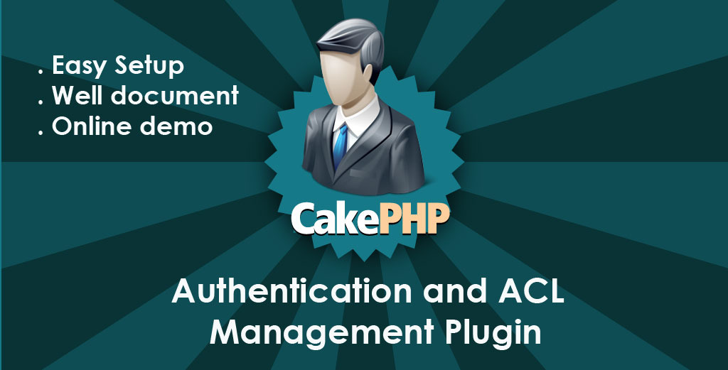 CodeCanyon CakePHP 2.0 Authentication & ACL Management Plugin 1325808