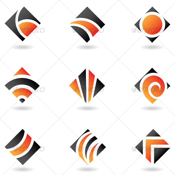 GraphicRiver abstract diamond shapes 52772