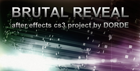 After Effects Project - VideoHive Brutal Reveal 159161