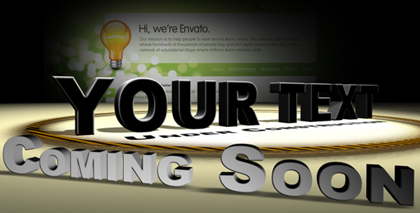After Effects Project - VideoHive Under Construction 159197
