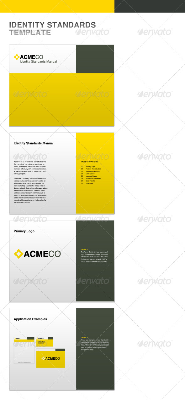 GraphicRiver Identity Standards Guide Template 159281