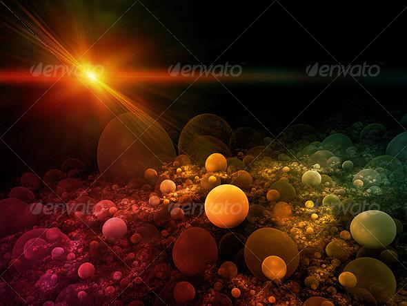 GraphicRiver Sphere Field Background 36332