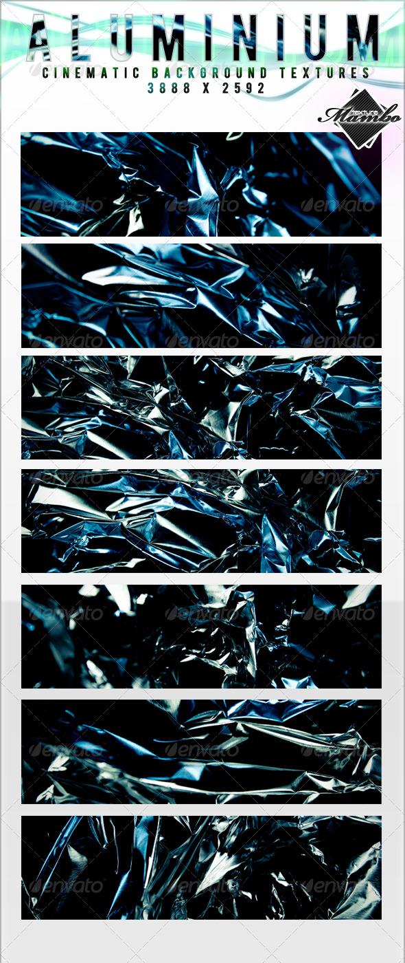 GraphicRiver Aluminium Cinematic Background Textures 159579