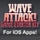 Wave Attack Game Starter Kit - Universal iOS App - CodeCanyon Item for Sale