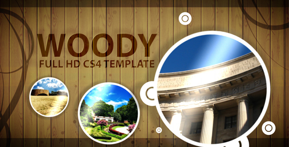 After Effects Project - VideoHive Woody After Effect CS4 Project 159176
