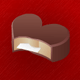Valentines Day Message Chocolate - ActiveDen Item for Sale