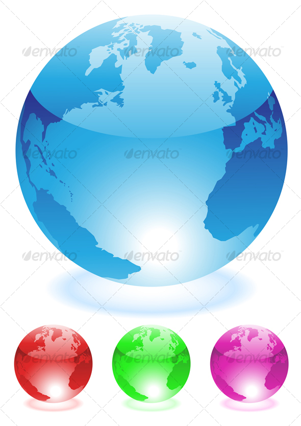 GraphicRiver Globes 53045