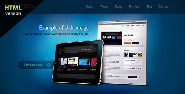 ThemeForest Envision HTML Corporate portfolio theme 159919