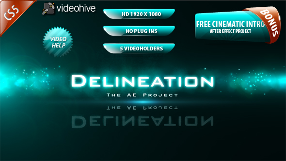 After Effects Project - VideoHive Delineation 159957