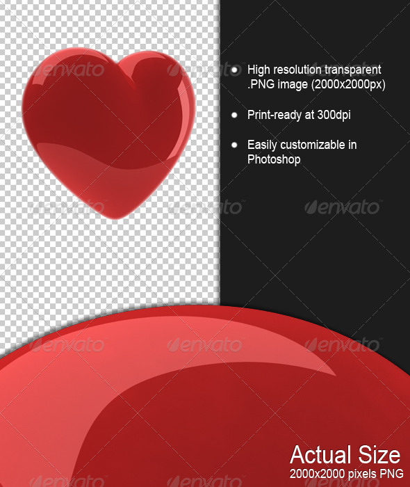 GraphicRiver Heart 159994