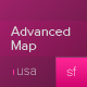 Advanced XML Map of USA - ActiveDen Item for Sale