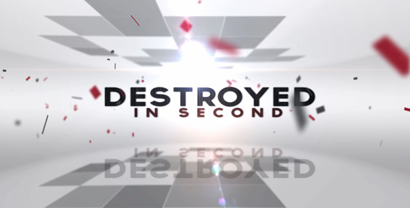 After Effects Project - VideoHive Destroyed in Seconds 160002