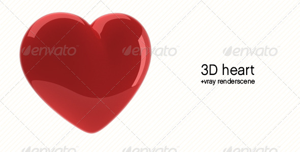 3DOcean Heart 3D Model 160003