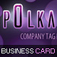 Polka Dots Business Card - GraphicRiver Item for Sale