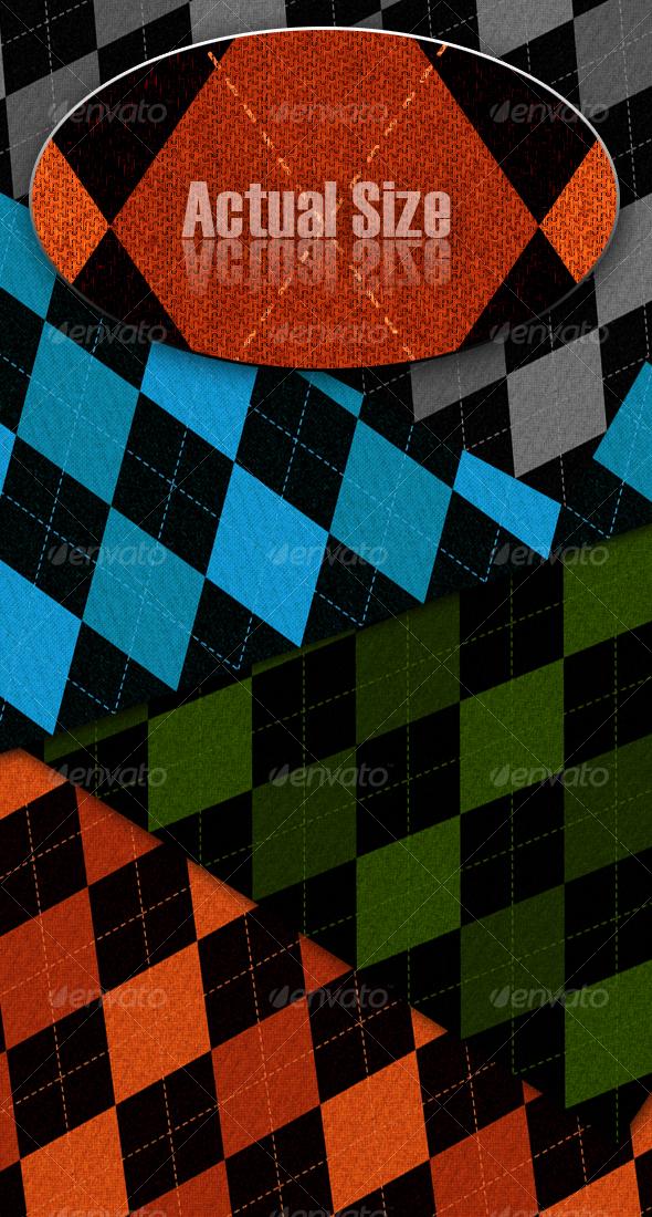 GraphicRiver Argyle Texture Backgrounds 53174
