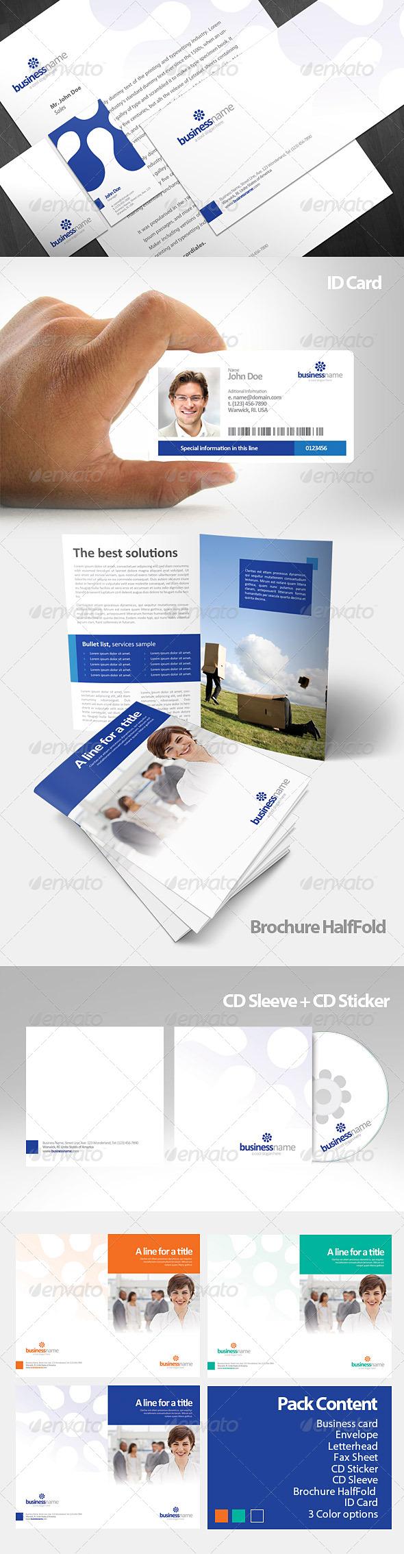 GraphicRiver Katra Corporate Identity Pack 159659