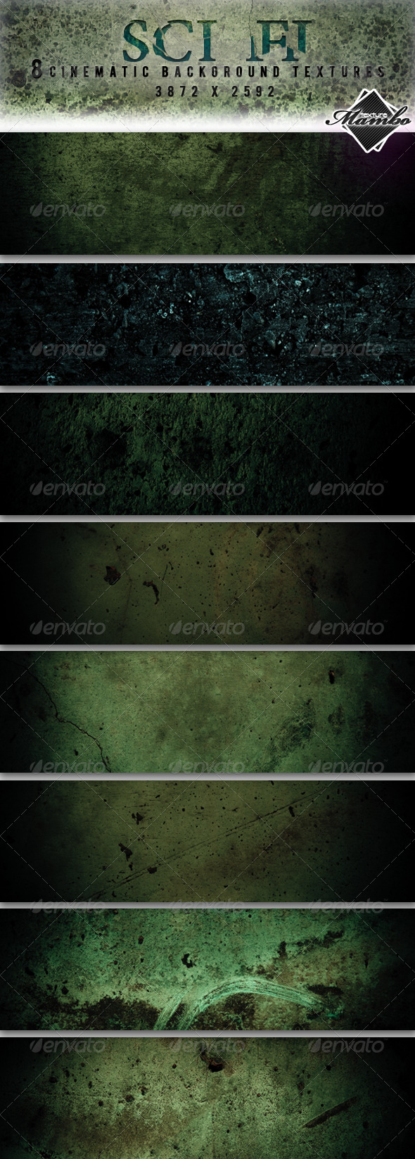 GraphicRiver Sci Fi Cinematic background textures 159529