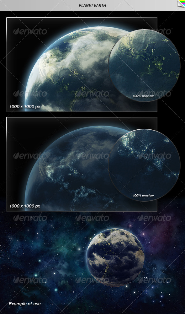 GraphicRiver Planet Earth 160318