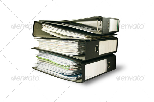 GraphicRiver Business File Folders 53511