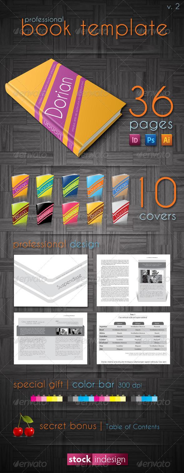 GraphicRiver Book Template Dorian 133595