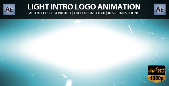 After Effects Project - VideoHive Light Intro Logo Animation 161173
