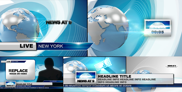 After Effects Project - VideoHive MEGA NEWS PACK 161403