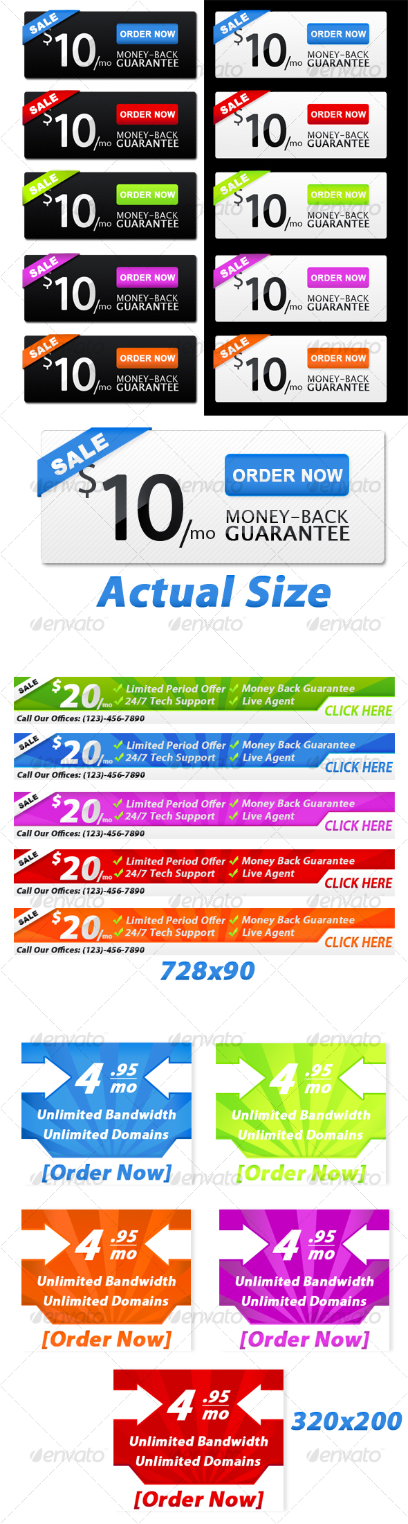 GraphicRiver Web Banners 53633