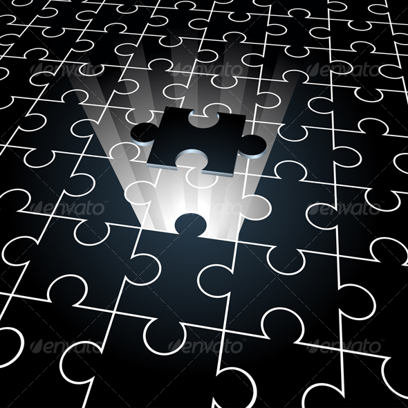 GraphicRiver jigsaw the missing piece 53669