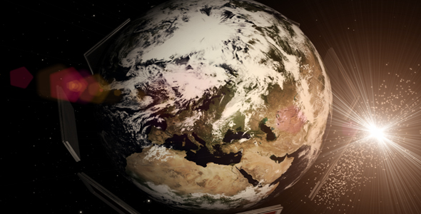 After Effects Project - VideoHive Space intro 161580