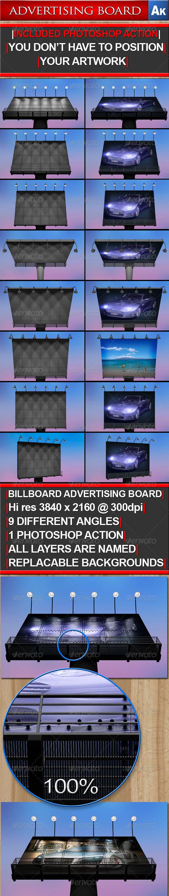 GraphicRiver Billboard Advertising Board 161669